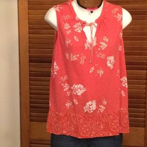 Lucky Brand Keyhole Top